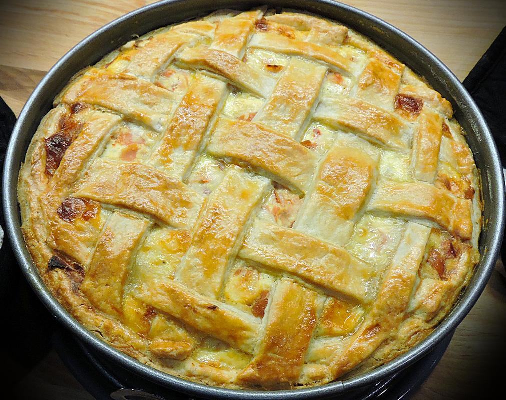 Recipe Babbo Finzi S Pizzagaina Pizza Rustica Italian Sons And Daughters Of America